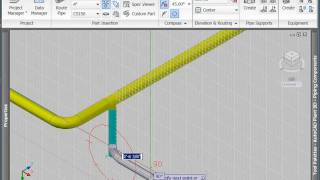 Routing Pipe with AutoCAD Plant 3D (Part 2)