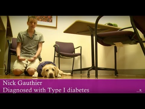Service Dog Helps Teen Monitor His Insulin Levels