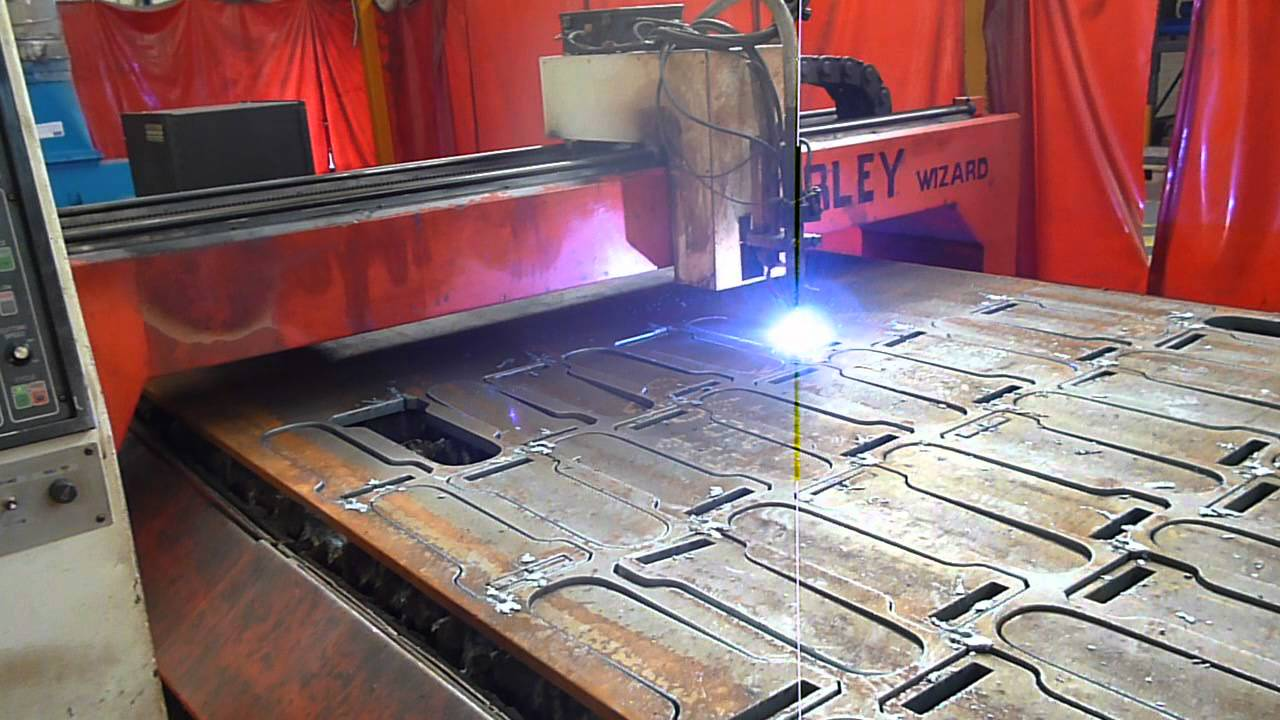 Farley Wizard Cnc Plasma Cutter For Sale With Hypertherm Ht2000 At Westermans