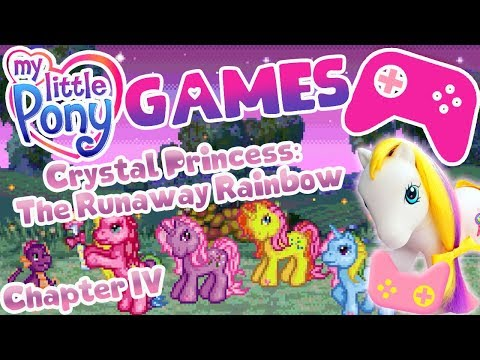 MY LITTLE PONY / / GAMES / / The Runaway Rainbow Chapter 4 / / + Link To Download!