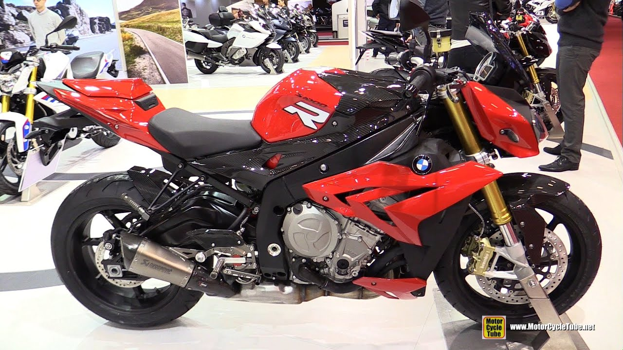 2016 bmw s1000r walkaround 2015 salon de la moto paris youtube. Black Bedroom Furniture Sets. Home Design Ideas