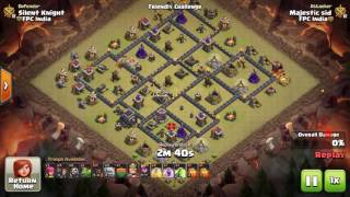 Th9 Stoned Hobo strategy- Clash of Clans