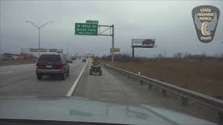 ATV pursuit on Interstate 480 in Cleveland thumbnail
