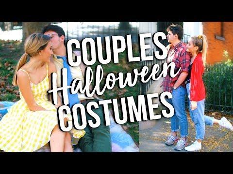 EASY COUPLE HALLOWEEN COSTUME IDEAS! 2017