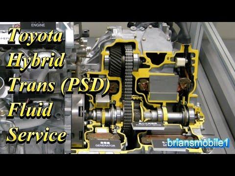 Toyota Hybrid Transmission PSD Fluid Service