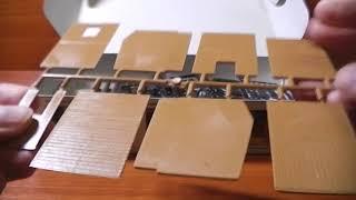 Распаковка и обзор строений фирмы Auhagen HO