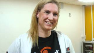 Olympic hopeful Gemma Spofforth talks about the newly refurbished gym at Westgate Leisure Chichester