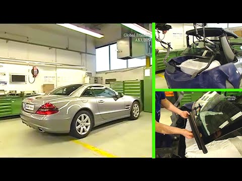 Mercedes Benz Sl Remove Install Replace Lower Sealing On