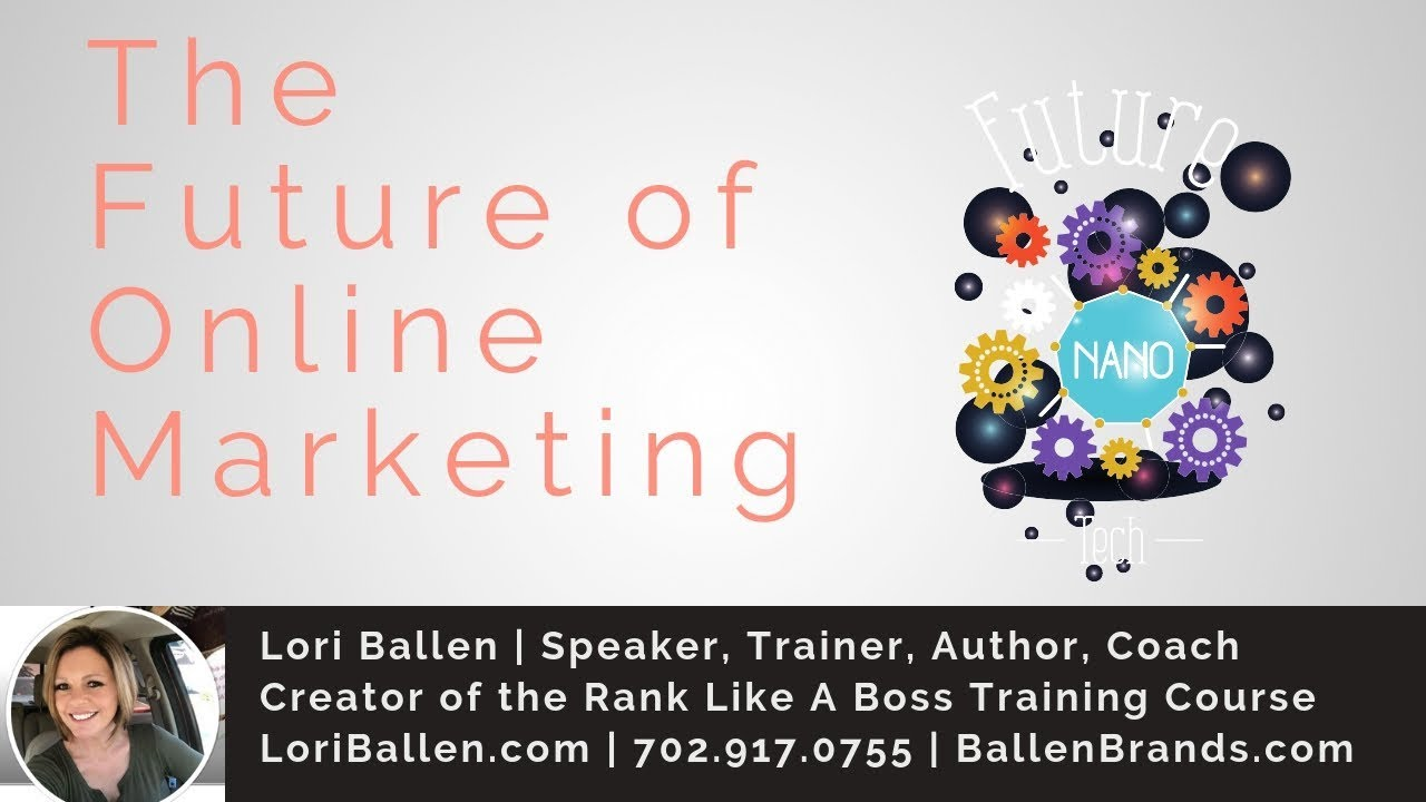 The Future of Online Marketing for 2019 | Chat Bots, FB Search, Blogging,  Video and More