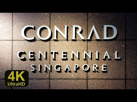 Conrad Singapore Hotel Full Roomtour, Pooltour, Executive Lounge, Breakfast 5 Star Luxury unlimited