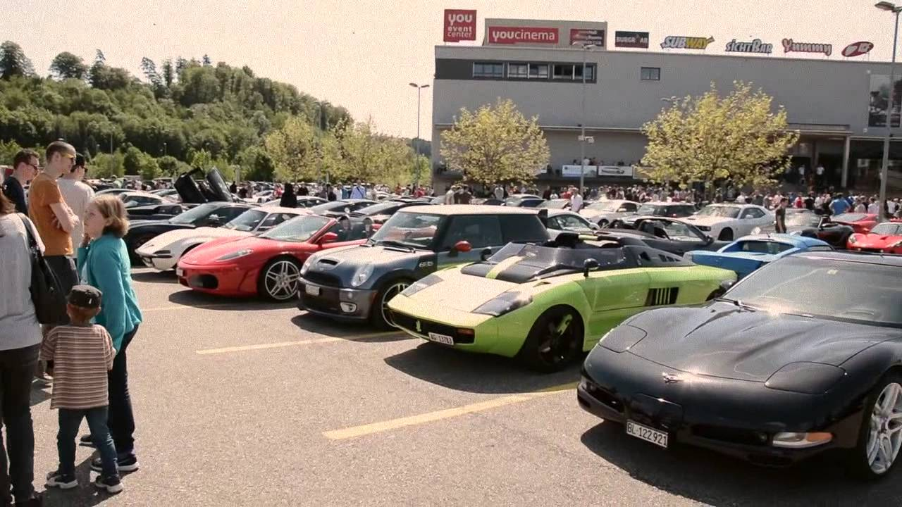 Cars And Coffee Oftringen Switzerland Youtube