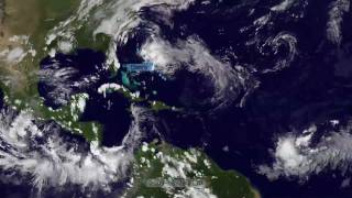 2009 Atlantic Hurricane Season Time-Lapse [1080p]