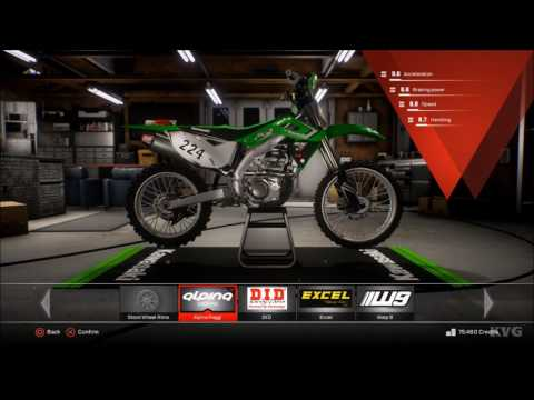 MXGP 3 - The Official Motocross Videogame - Customize | Tuning Bike (PS4 HD) [1080p60FPS]