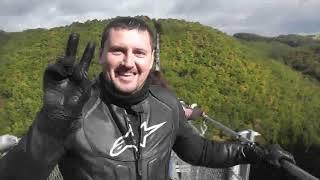 Поездка на самый длинный навесной тросовый мост Германии