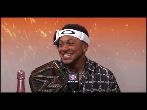 Antoine Winfield Jr  Postgame Super Bowl LV Chiefs vs Bucs