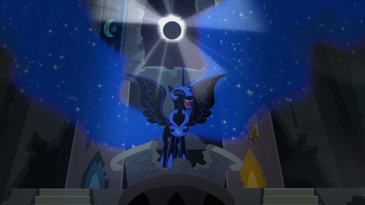 luna s nightmare moon transformation my little pony friendship is