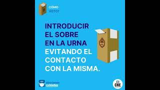 #EleccionesArgentina Procedimiento de votación