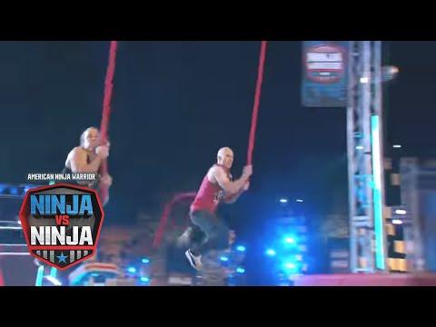 Grant McCartney Vs. David Campbell (S1 E12) | American Ninja Warrior: Ninja Vs. Ninja