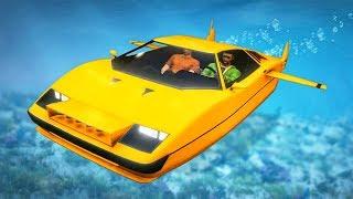 WORLD'S FIRST SUBMARINE CAR! (GTA 5 Doomsday Heists DLC)