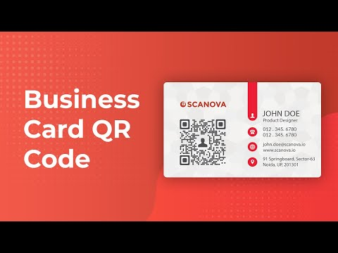 How to make your business card better with QR Codes