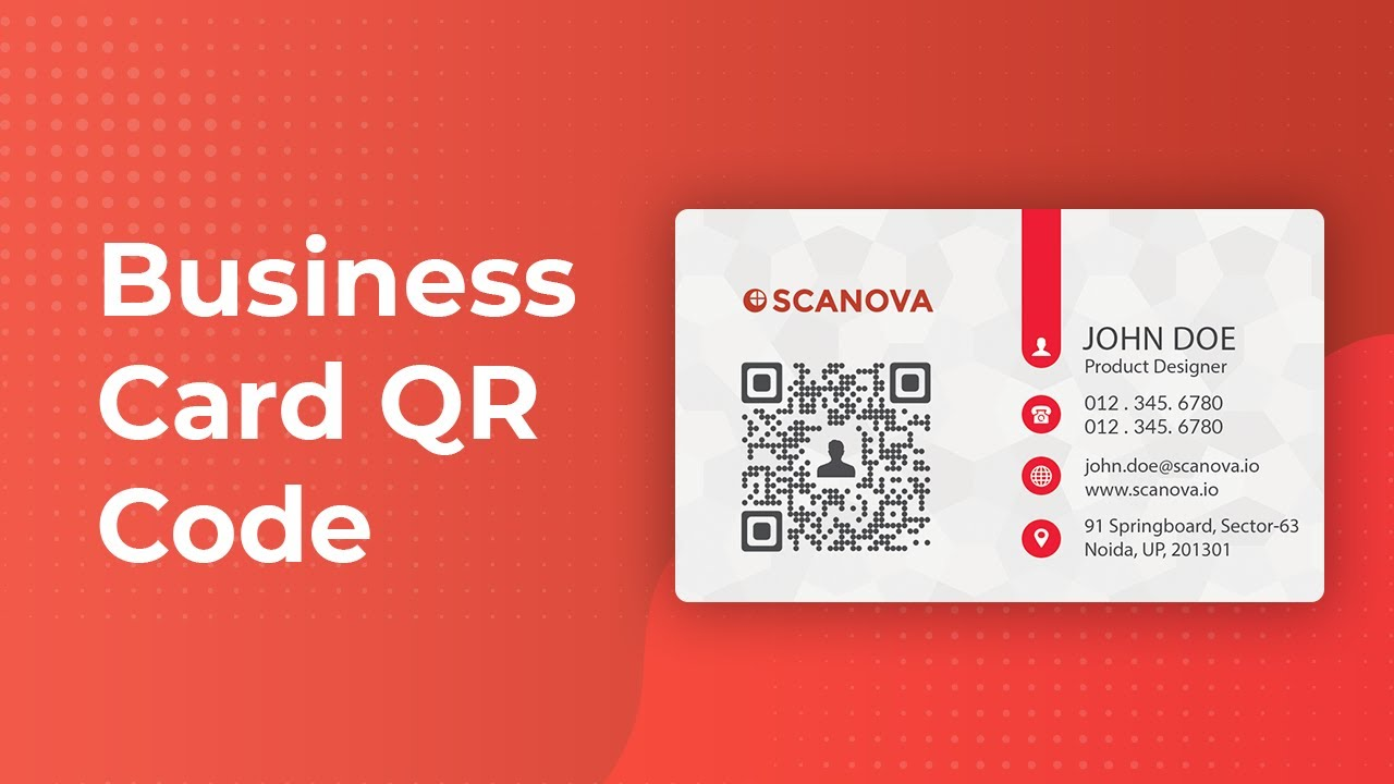 How to make your business card better with QR Codes - YouTube