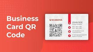 Wie machen Sie Ihre business-Karte besser mit QR-Codes