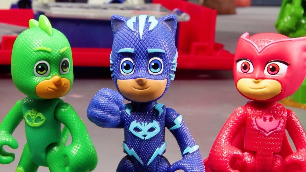 PJ Masks Creations ⚡ Catapult Chaos ⚡ HEROES VS. VILLIANS | PJ Masks New Episodes 2021