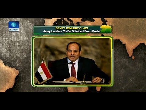 Egypt To Regulate Use Of Social Media, As Soldiers Get Immunity Over 2013 Crackdown |Network Africa|