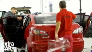 Как правильно тонировать стекла авто - видео урок(Создайте неповторимый стиль своего авто вместе со студией