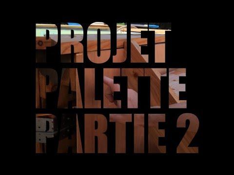 Projet Terrasse Et Piscine En Palette Explication Partie 2 2 Youtube