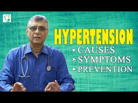 Hypertension Causes, Symptoms & Prevention | Treatment of Hypertension/High Blood Pressure