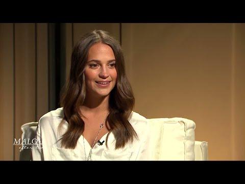 """Alicia Vikander: """"Mamma fick mig att inse hur tuff skådespelarbranchen är"""" - Malou Efter t"""