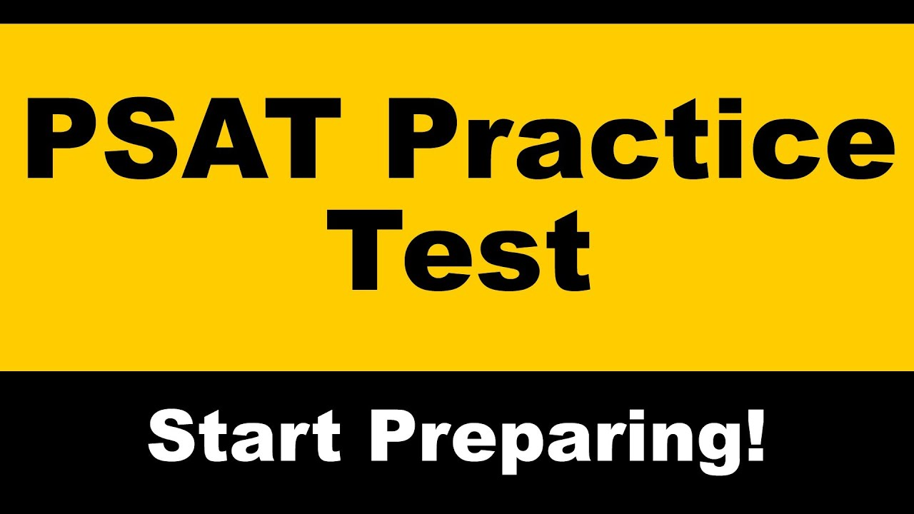 PSAT Practice Test - Free PSAT Math Prep - YouTube