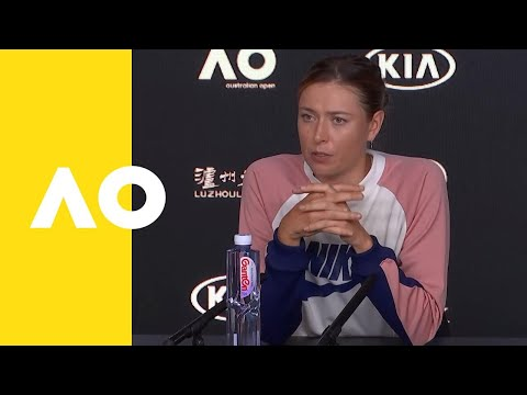 Maria Sharapova press conference (2R) | Australian Open 2019