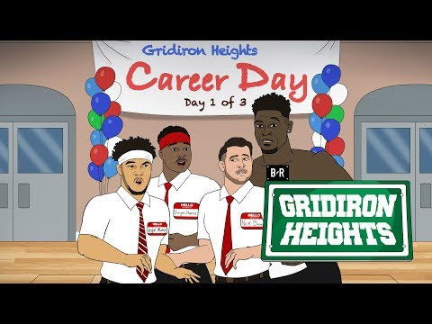 Kyler, Bosa and D.K. Are Looking for Jobs on Career Day   Gridiron Heights Draft Special