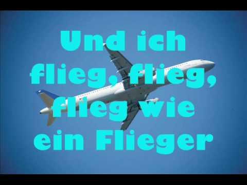 Fliegerlied mit Songtext (lyrics)