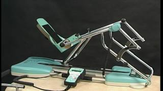 Kinetec Spectra™ knee CPM -how to use the remote control-