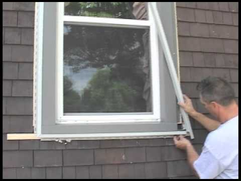 Step 2 Of 9 How To Install Lineals And J Channels For Vinyl Siding And Insulation Youtube