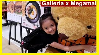 Robinsons Galleria & Sm Megamall | Donille Vlogs Philippines