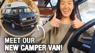 Meet Our New Camper Van! | WahlieTV EP624