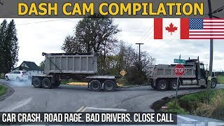 Dash Cam Compilation (USA & Canada) Car Crashes in America, bad drivers, Road Rage 2017 # 13