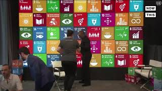 Youth Activists Attend UN Youth Climate Summit and SDG Media Zone  | NowThis