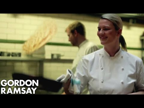 Gordon's Chefs Flip Some Pancakes - Gordon Ramsay