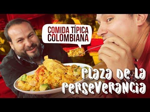 Plaza de la Perseverancia | Comida Típica Colombiana | Los Insaciables