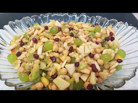 Fruit Chaat فروٹ چاٹ / Cook With Saima
