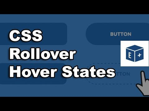 Custom HTML + CSS Button Rollover And Hover Effects [Adobe XD]