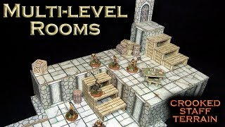 Episode 30 : Multi-level Rooms (dungeon terrain)