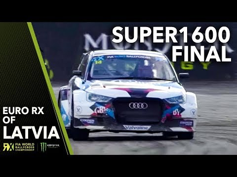 Euro RX Super1600 Final | 2018 Neste World Rallycross of Latvia