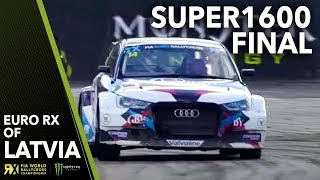 Euro RX Super1600 Final   2018 Neste World Rallycross of Latvia