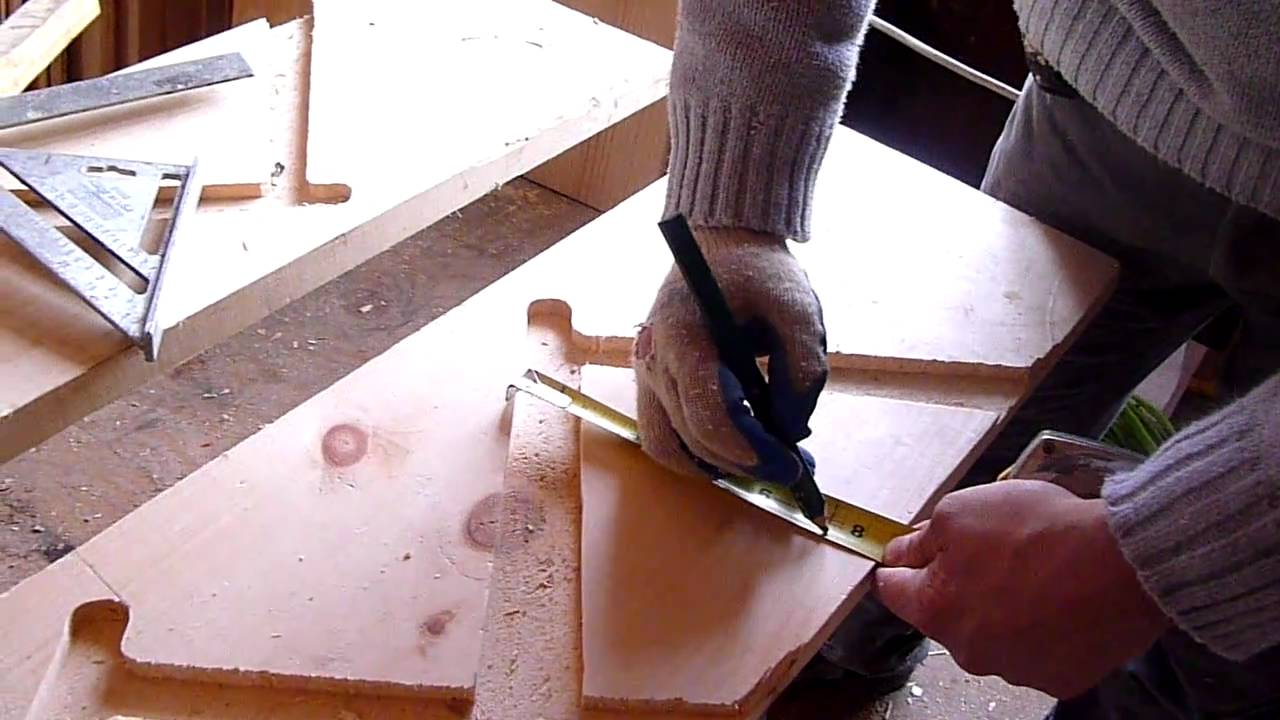 como hacer escaleras de madera 3 corte youtube - Como Hacer Escaleras De Madera